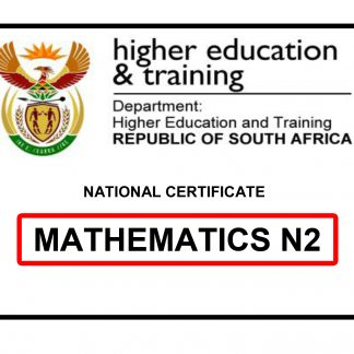 FREE Mathematics N2 Question paper and memo