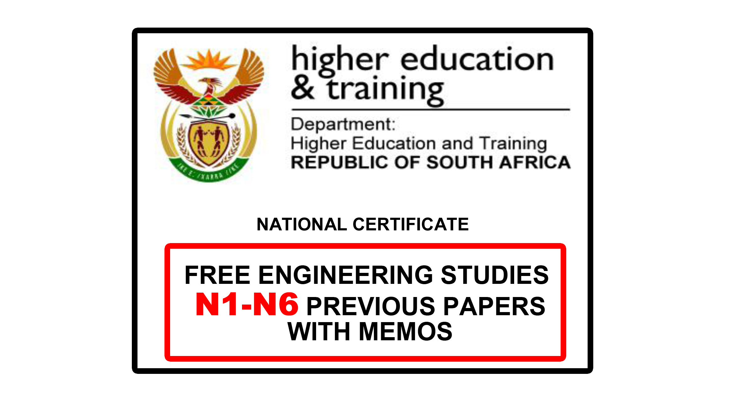 FREE Engineering Studies N3 Previous papers