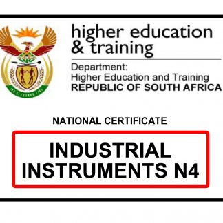 Industrial Instruments N4 Previous Papers with answers
