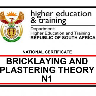 Bricklaying and Plastering N1 Previous Papers and answers 2018-2020